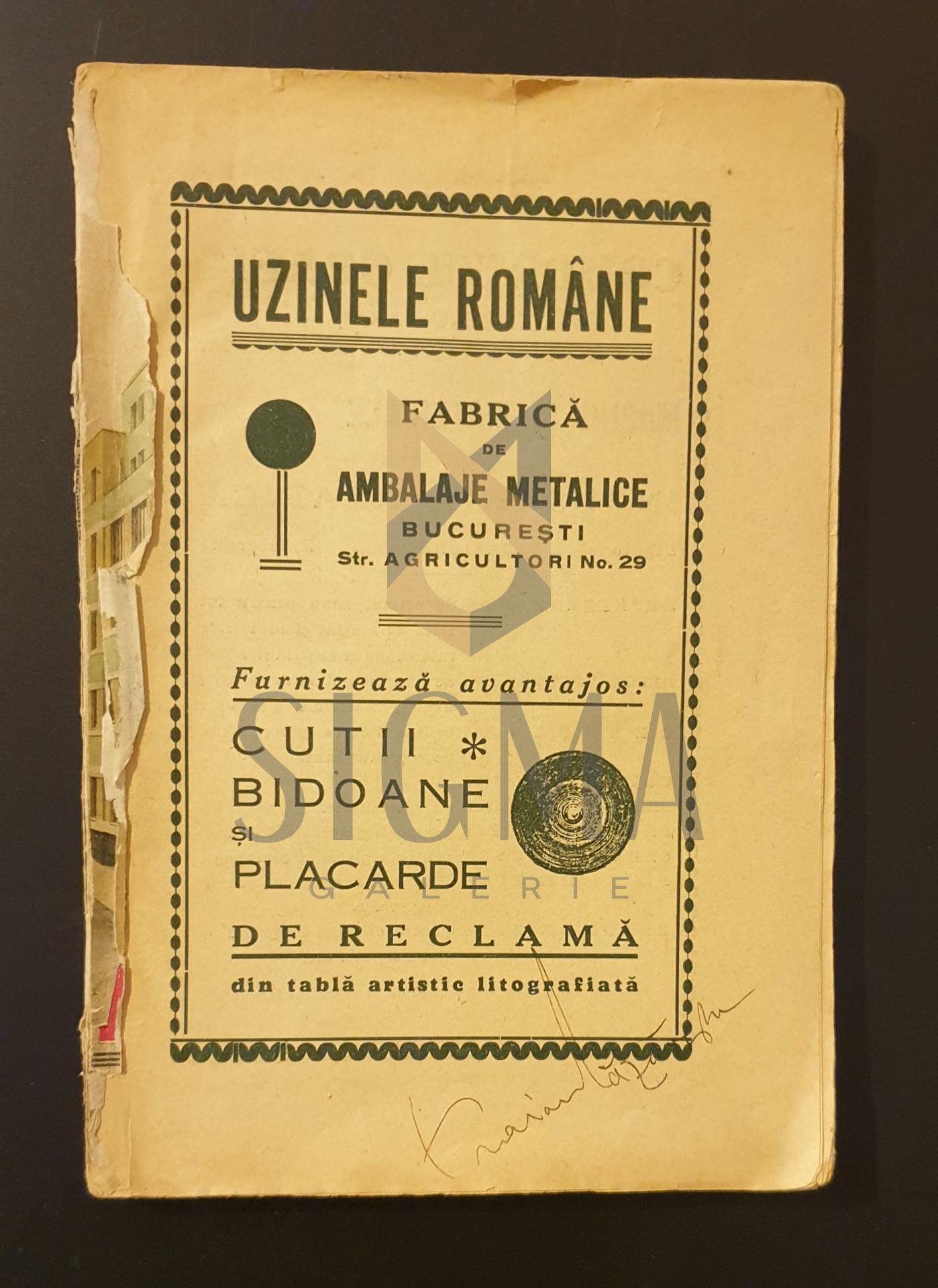 Almanachul ziarelor Adevarul si Dimineata pe anul 1934