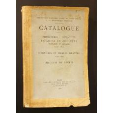 Catalogue miniatures, gouaches, estampes en couleurs francaises et anglaises 1750-1815
