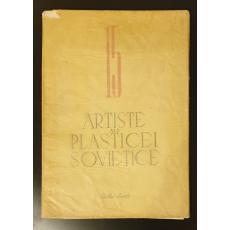 Artiste ale plasticei sovietice  *  Nr 15  *  cu 24 reproduceri in Heliogravura