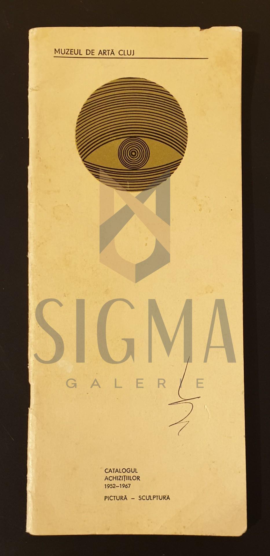 Catalogul achizitiilor 1952-1967, pictura-sculptura
