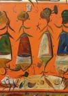 "TABLOU, STEFAN PELMUS, "" INSECTAR "" , U/P , 2011"