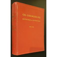 Articole si cuvintari 1955-1959