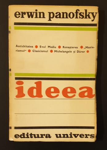 Ideea  *  Contributie la istoria teoriei artei