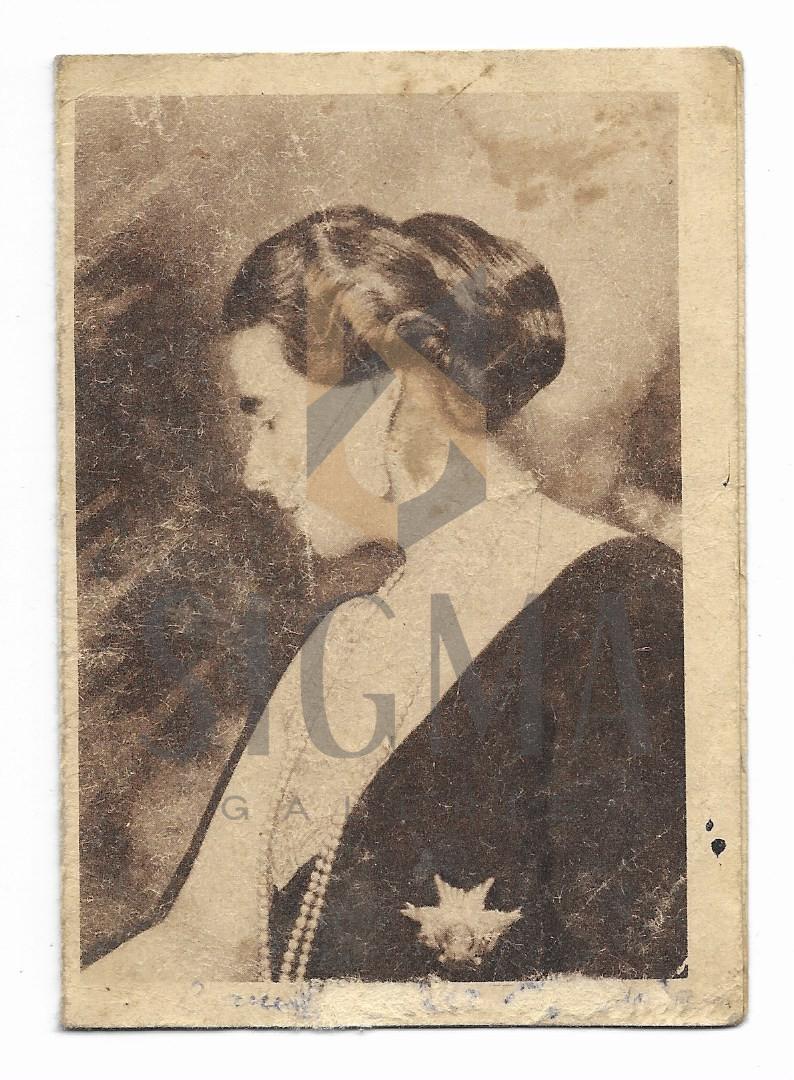 """PLIANT, RECLAMA CIOCOLATA """" REGINA MARIA""""  , URS DE DORNA, 1924"""