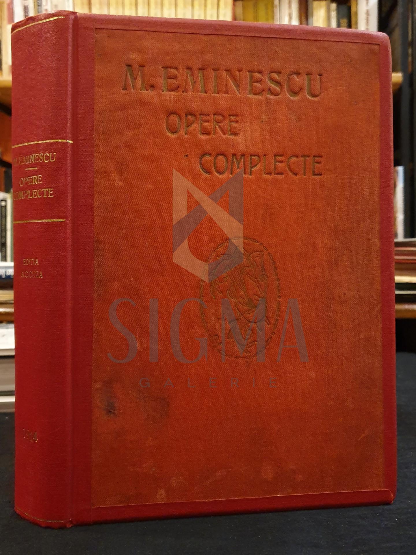 MIHAI EMINESCU ( studiu introductiv si prefata A. C. CUZA )