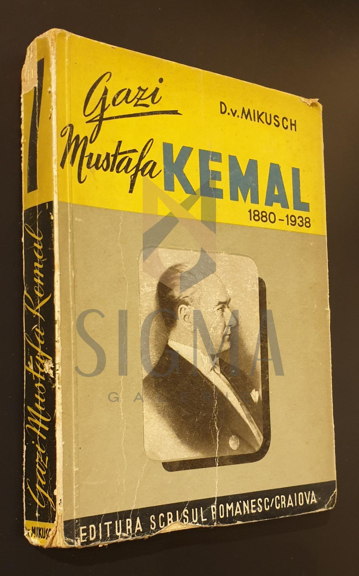 Gazi Mustafa Kemal intre Asia si Europa