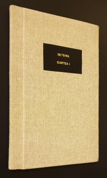 Oltenia Cartea I  *  Culegeri - Cercetari - Documente
