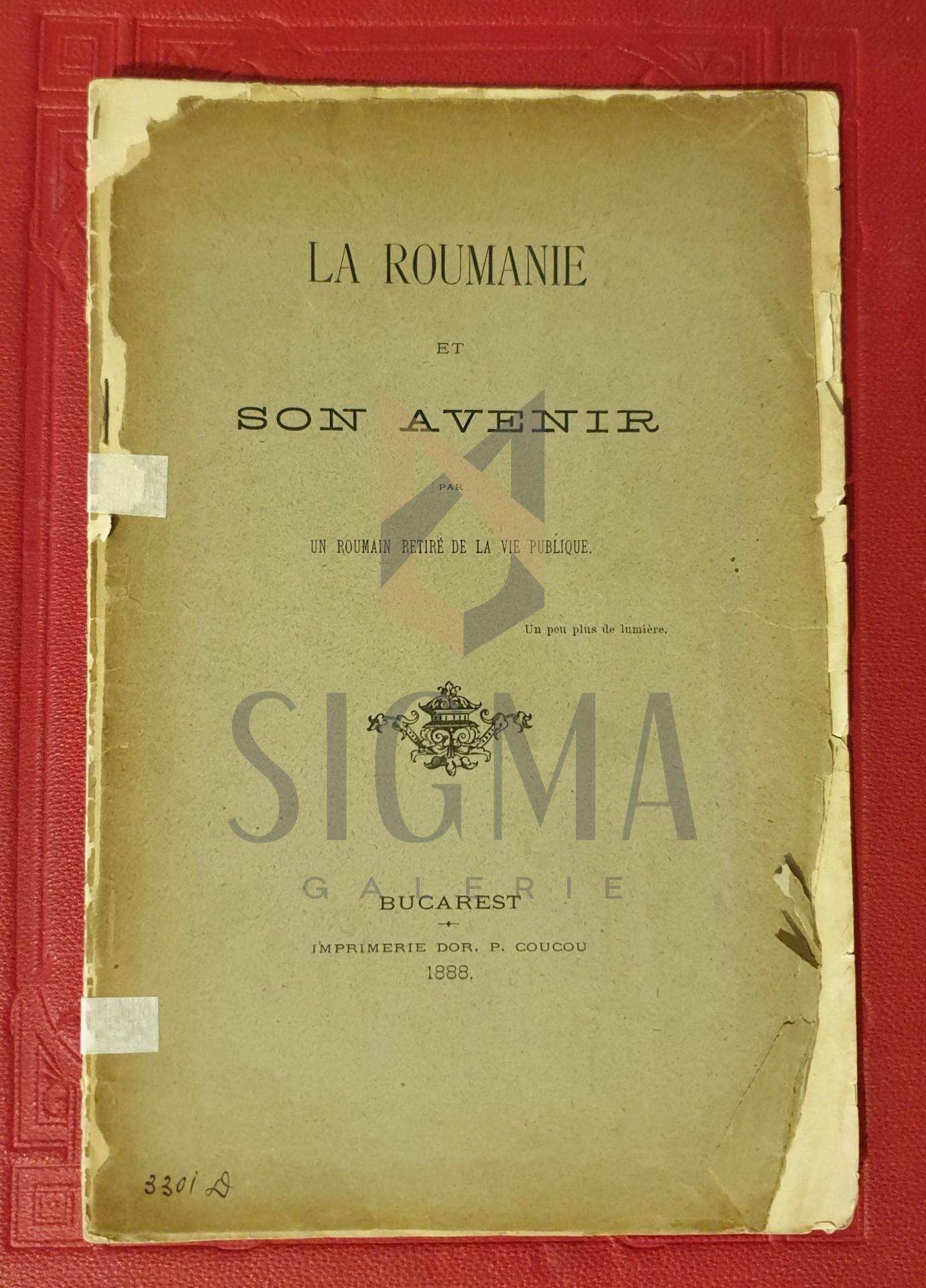 La Roumanie et son avenier