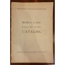 Muzeul A. Simu si casa-Simu-muzeu, Catalog
