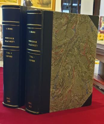 Periodice Romanesti vol. I si II  * Publicatii periodice Romanesti