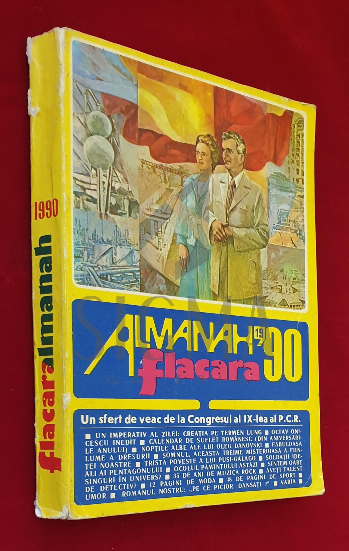 Almanah Flacara 1990