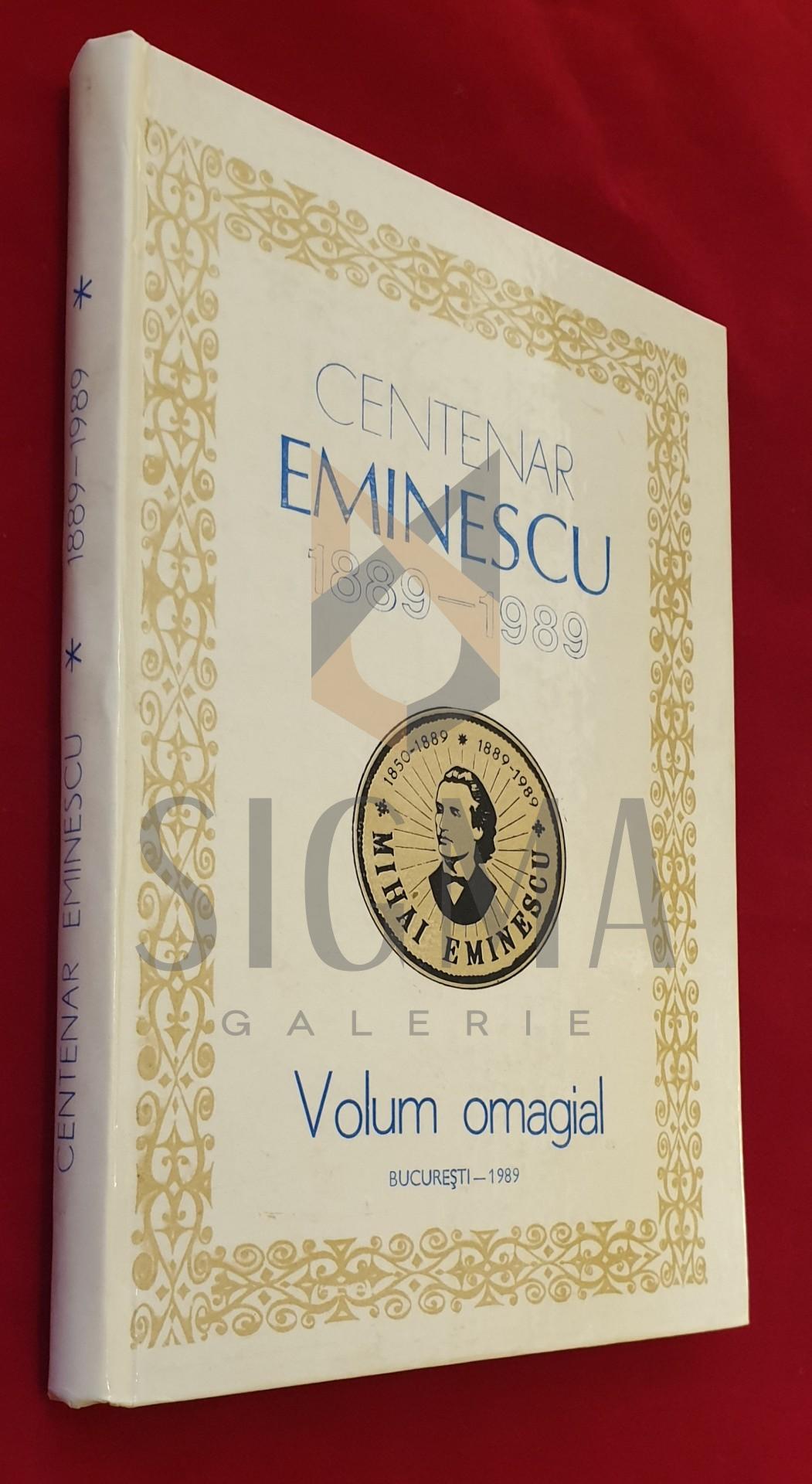 Centenar Eminescu 1889-1989  *  Volum omagiar