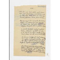 "ION PILLAT, "" LEDA "" , POEZIE MANUSCRIS , IASI 1917"