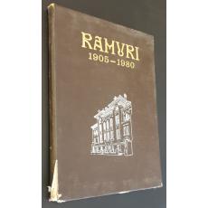 Ramuri 1905-1980, album jubiliar 75 ani