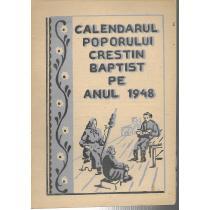 CALENDARUL POPORULUI CRESTIN BAPTIS PE ANUL 1948