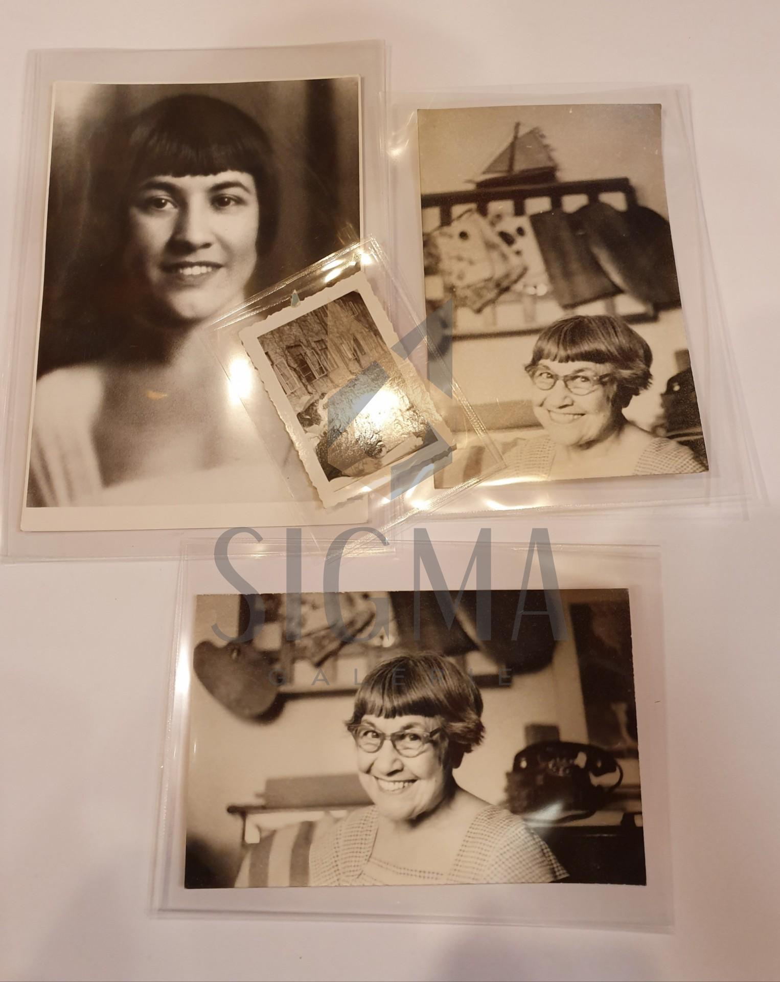 LOT, 4 FOTOGRAFII, LUCIA DEM. BALACESCU SI MAX BLECHER
