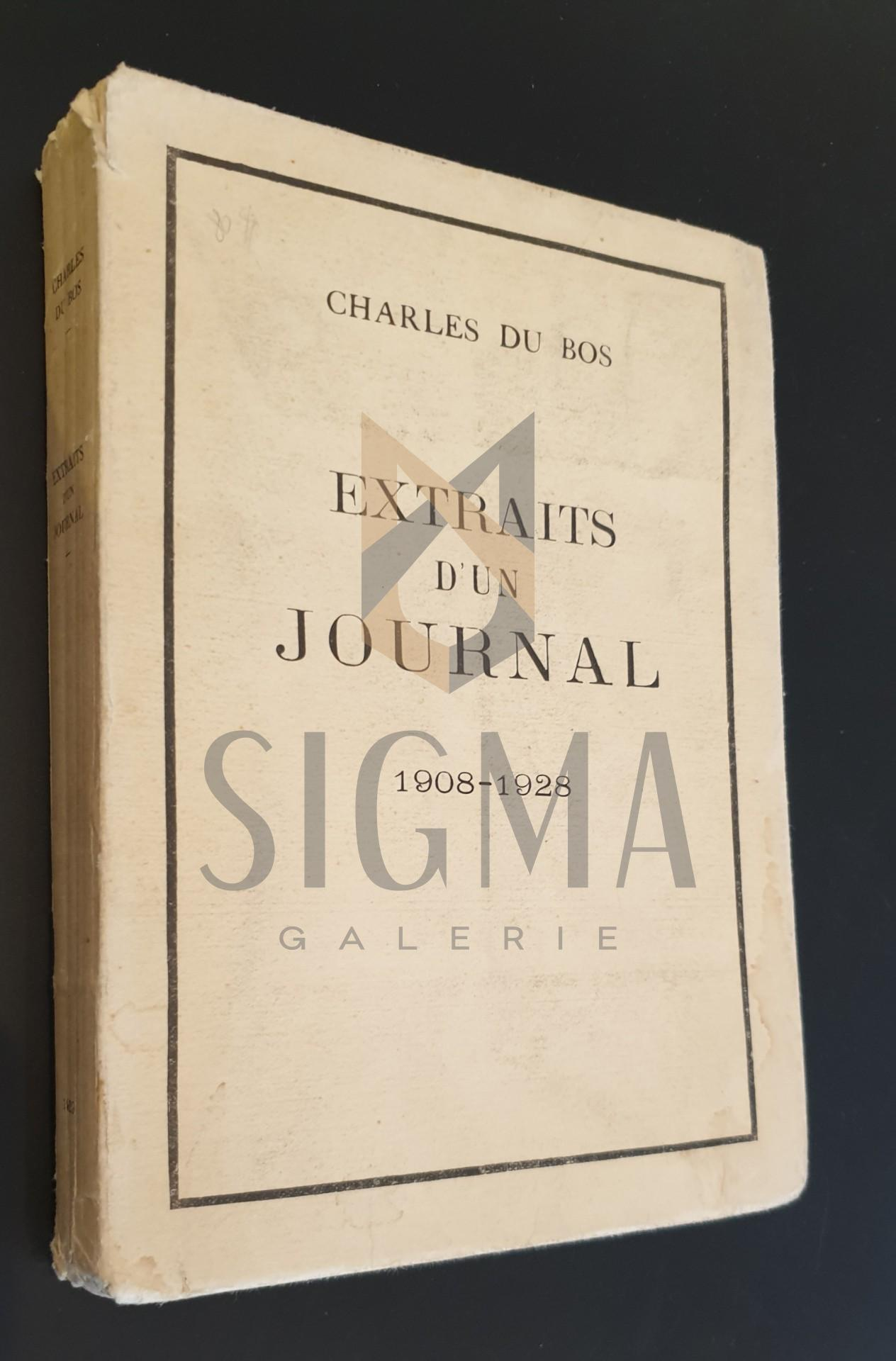 EXTRAIS D US JOURNAL 1908-1928