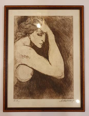 "TABLOU, MARCEL CHIRNOAGA "" INTIMITATE "", E.A. (Exemplar de Artist!)"