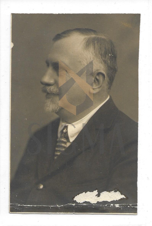 DOCTORUL CONSTANTIN BACALOGLU, FOTOGRAFIE, SCRIS OLOGRAF, 1927