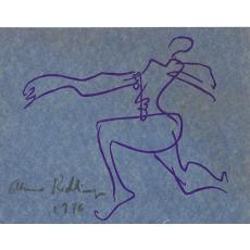 ALMA REDLINGER, PERSONAJ FEMININ, grafica , 1976