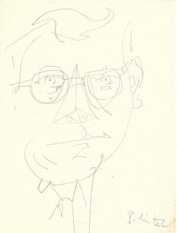 CONSTANTIN PILIUTA, AUTOPORTRET + SCRISOARE / ARTICOL/ POEZIE, 1966