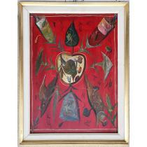 "TABLOU, STEFAN PELMUS , "" TOTEM "" , U/P/C, 2000"