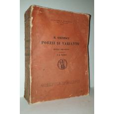 MIHAI EMINESCU ( editie alcatuita de D. R. Mazilu )