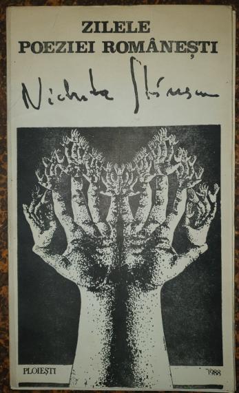 """ZILELE POEZIEI ROMANESTI """" NICHITA STANESCU """" Expozitie de Arta Plastica, Ploiesti 1988"""