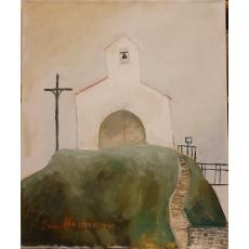 "TABLOU, DAN HATMANU, "" COLLIOURE - CHAPELLE SAINT VINCENT "" , U/P, 2006"