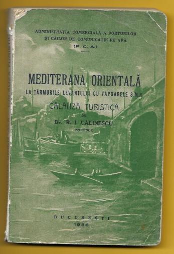Dr. R. I. Calinescu ( Dedicatie ! )