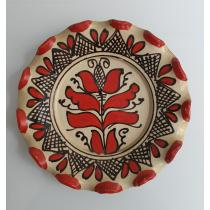 CERAMICA TRADITIONALA, TRANSILVANIA, FARFURIE MOLNOS ARPAD, 1980