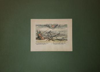 HARTA, ORADEA ( GROSWARDEIN / WARADIN ) , Daniel Meisner ( gravor) , 1625