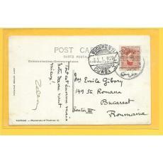 CARTE POSTALA, CELLA DELAVRANCEA catre Emil Gibory, 1929
