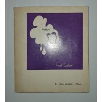 PAUL CELAN ( traducere si dedicatie Nina Cassian ! )