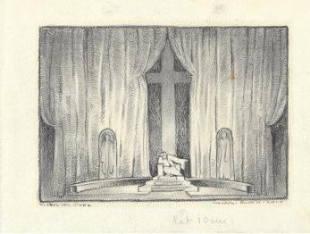 """VICTOR ION POPA, """" PIRANDELLO - HENRIC AL IV - LEA """" , scenografie"""