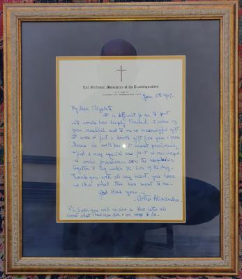 Principesa Ileana ( Maica Alexandra ), Scrisoare, 1967