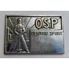 PLACHETĂ SPORTIVĂ OSP
