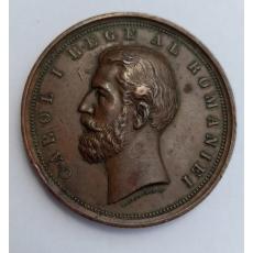 Medalie Carol I - Serbarea Proclamarei  Regatului 10 Maiu 1881