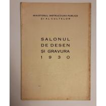 SALONUL DE DESEN SI GREAVURA 1930