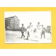 Fotografie Carol al II -lea, Maresalul Averescu, Mihai, Printul Nicolae