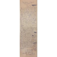 "Scrisoare, Constantin Piliuta "" Ganduri despre Routchi... "", Nuni Anestin"