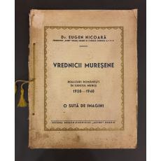 Dr. Eugen Nicoara ( dedicatie catre Sextil Puscariu )