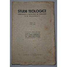 Studii Teologice - Publicatie a Facultatii dde Teologie