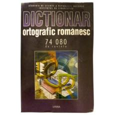 Dictionar ortografic romanesc
