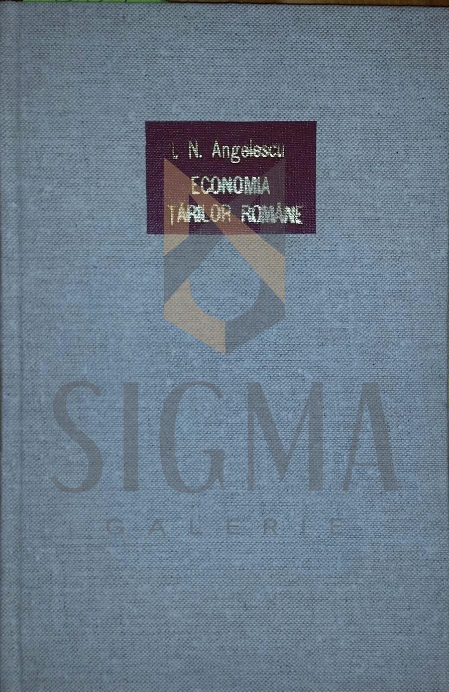 Economia Tarilor Romane vol. 1