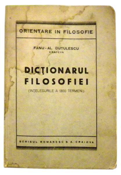 Dictionarul filosofiei