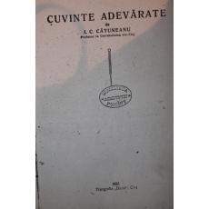 CUVINTE ADEVARATE