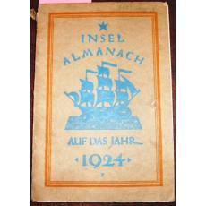 INSEL ALMANACH   AUF DAS JAHR, 1924