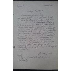 MARIN SORESCU document olograf UNIUNEA SCRIITORILOR 1984