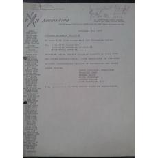PAUL GOMA documente despre arestare 1977